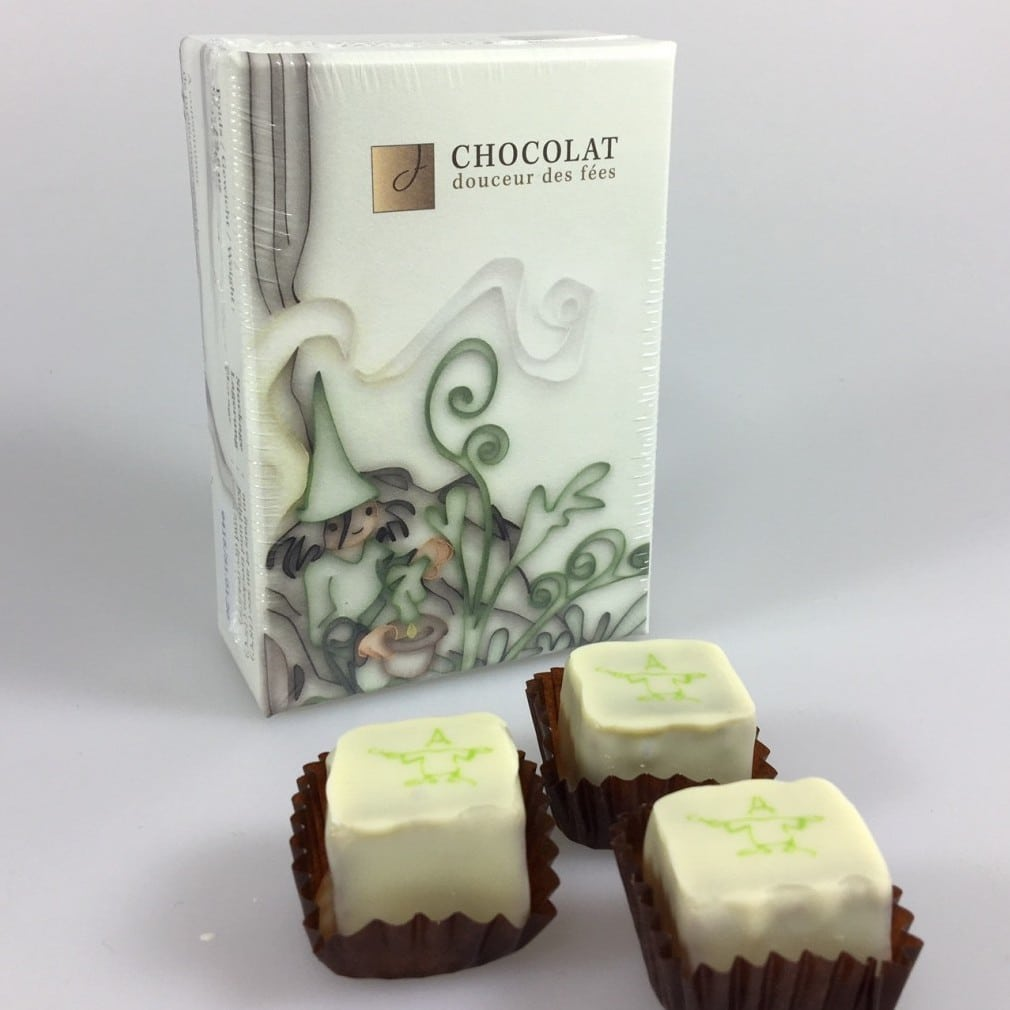 Chocolats à la fée verte